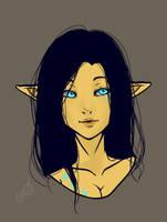 Elf Girl by StarsStuff