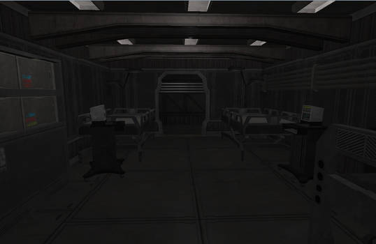 Spaceship Mediacl bay