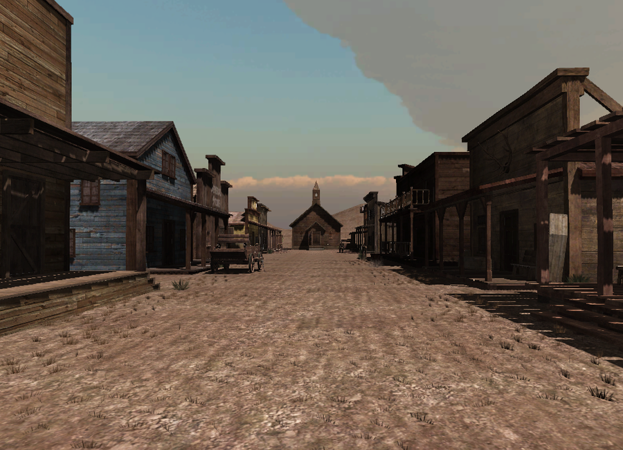 western town background - photo #2