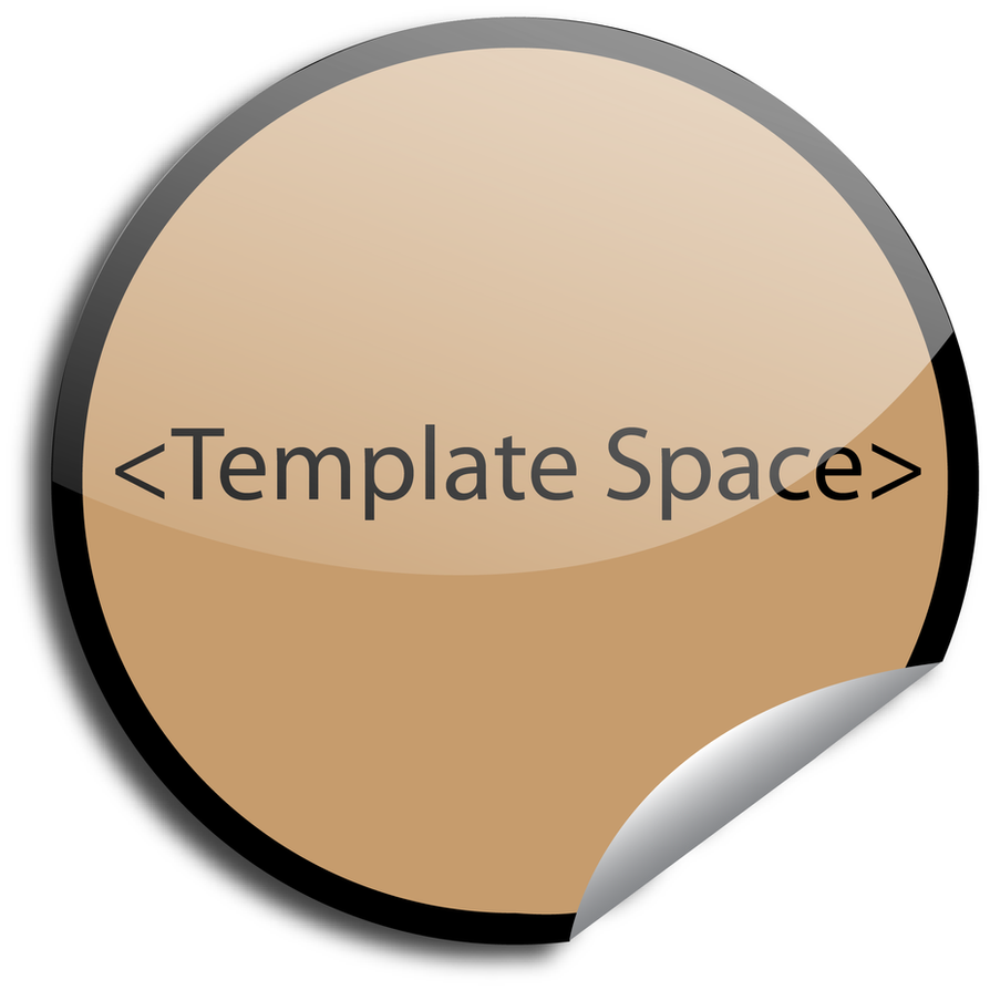 sticker template