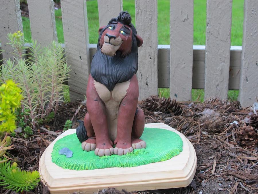 The Lion King Kovu Sculpture by WickedSairah