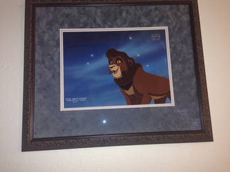 Cel and Background of Kovu 2 by WickedSairah