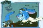 Blue Roo Badge