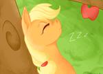 Sleeping in a Apple Tree