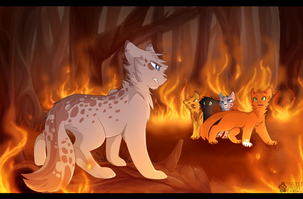 Down in Flames by Shadowstar-12