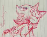 Ballpoint pen doodles