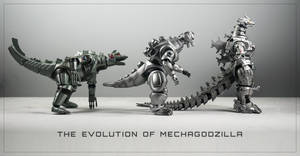 The Evolution of MechaGodzilla