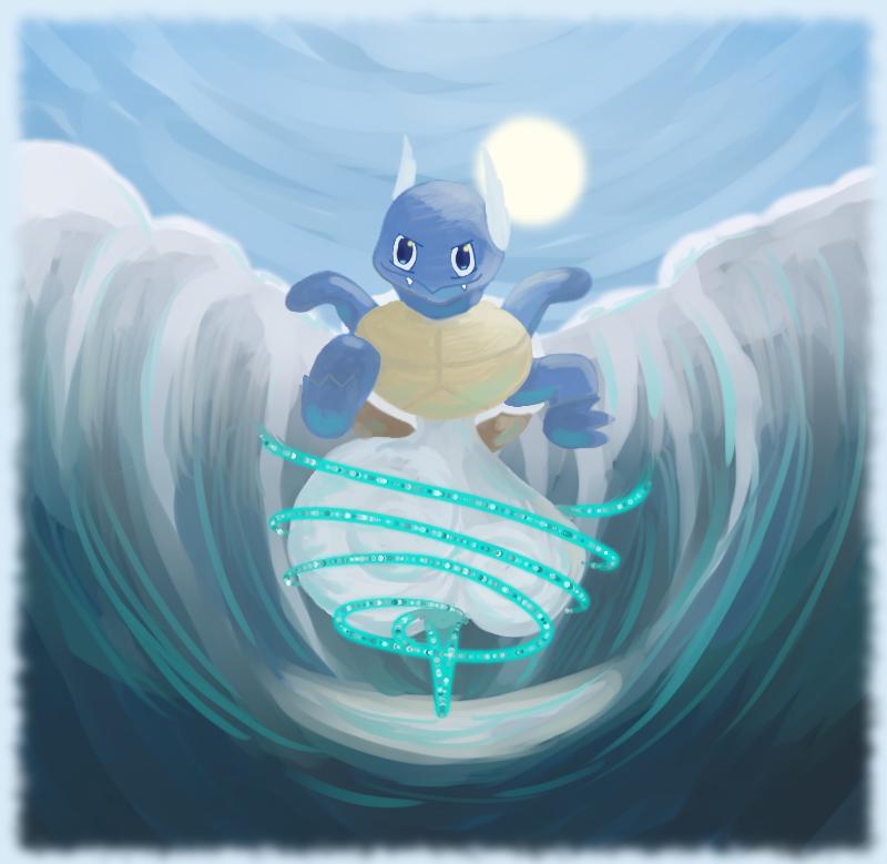Aqua Tail by QuietCrystal