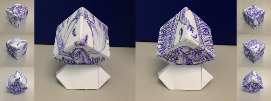 lugia and hooh origami sketch by quietcrystal on deviantart
