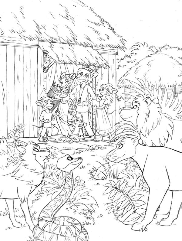 G. Stilton's Jungle Book by roby-boh