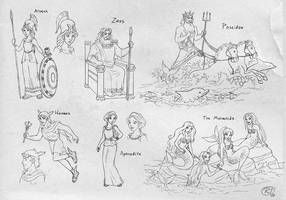 The Odyssey_characters by roby-boh