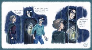 Tonks facing Snape