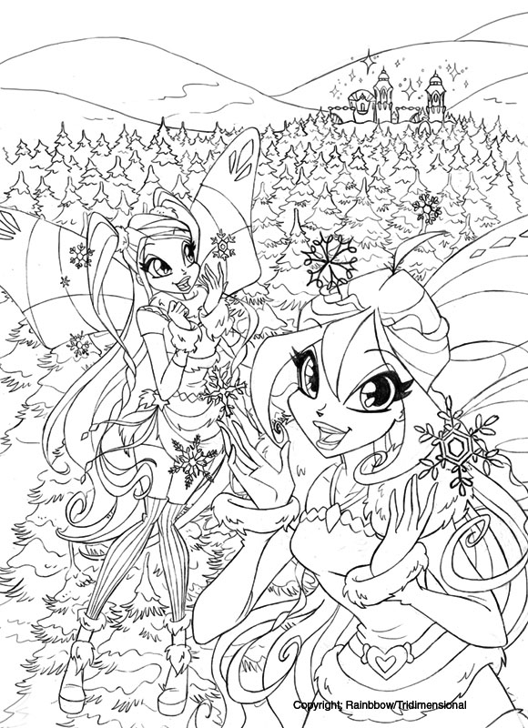 winx club coloring pages lovix - photo#26