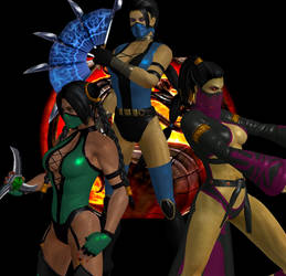 Kitana Ending  in Mortal Kombat Deception