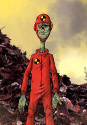 Crash test zombie by MetalSnail