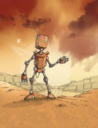 Survey Bot 33 by MetalSnail