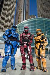 Spartans at Youmacon 2012