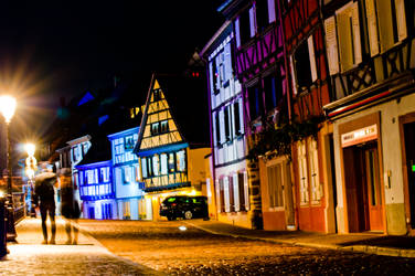 Colmar By Night 1 by drouch