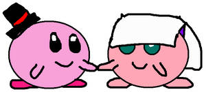 Kirby and Purin's wedding day