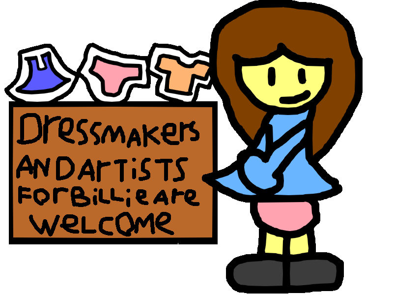 Looking for dressmakers