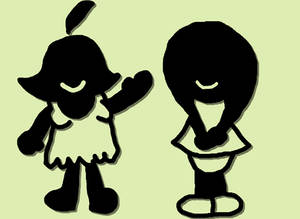 Billie meets Ms Game and Watch