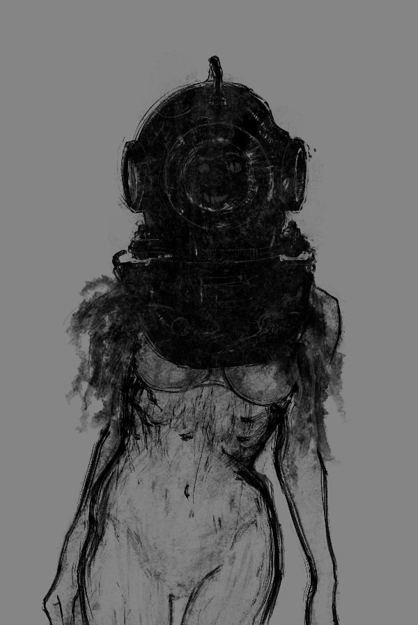 underwater prostitute by B-trndl