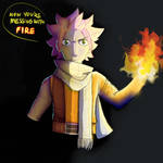 Messing With Fire by Furry--Turtle