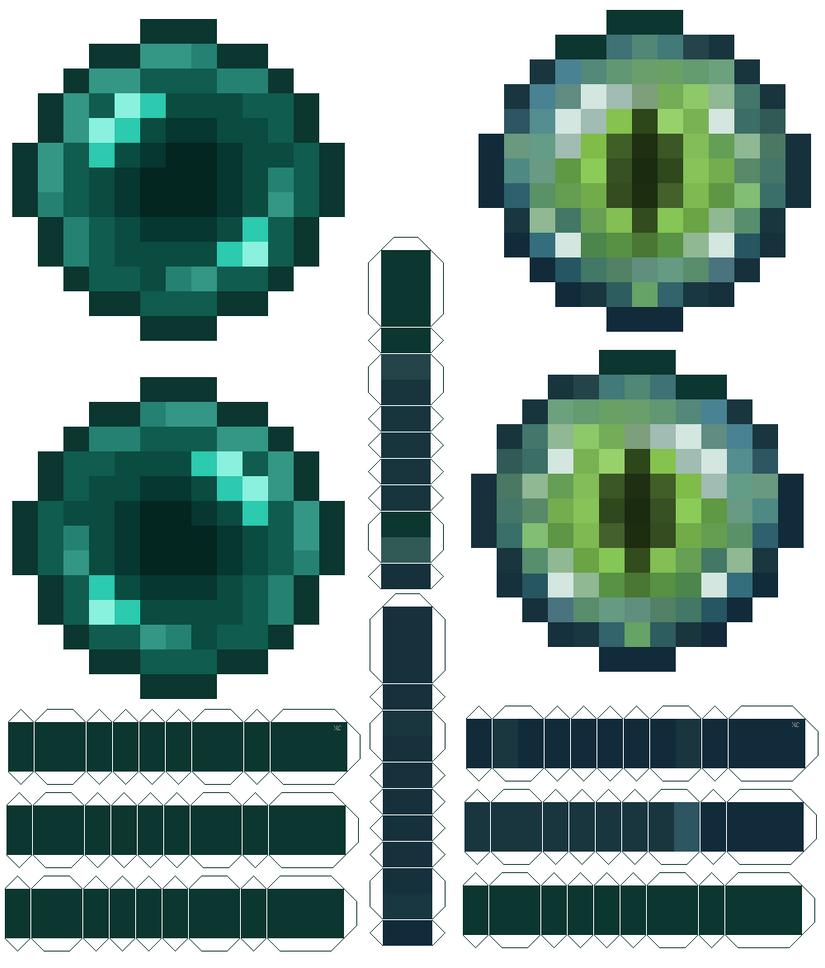 Minecraft как сделать жемчуг эндера