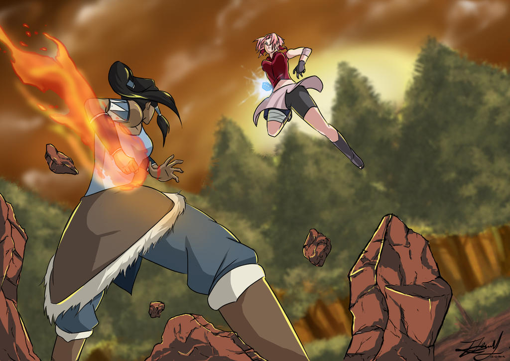 Naruto Vs Avatar Korra