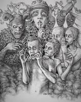 Schizophrenia by Scytheprayer
