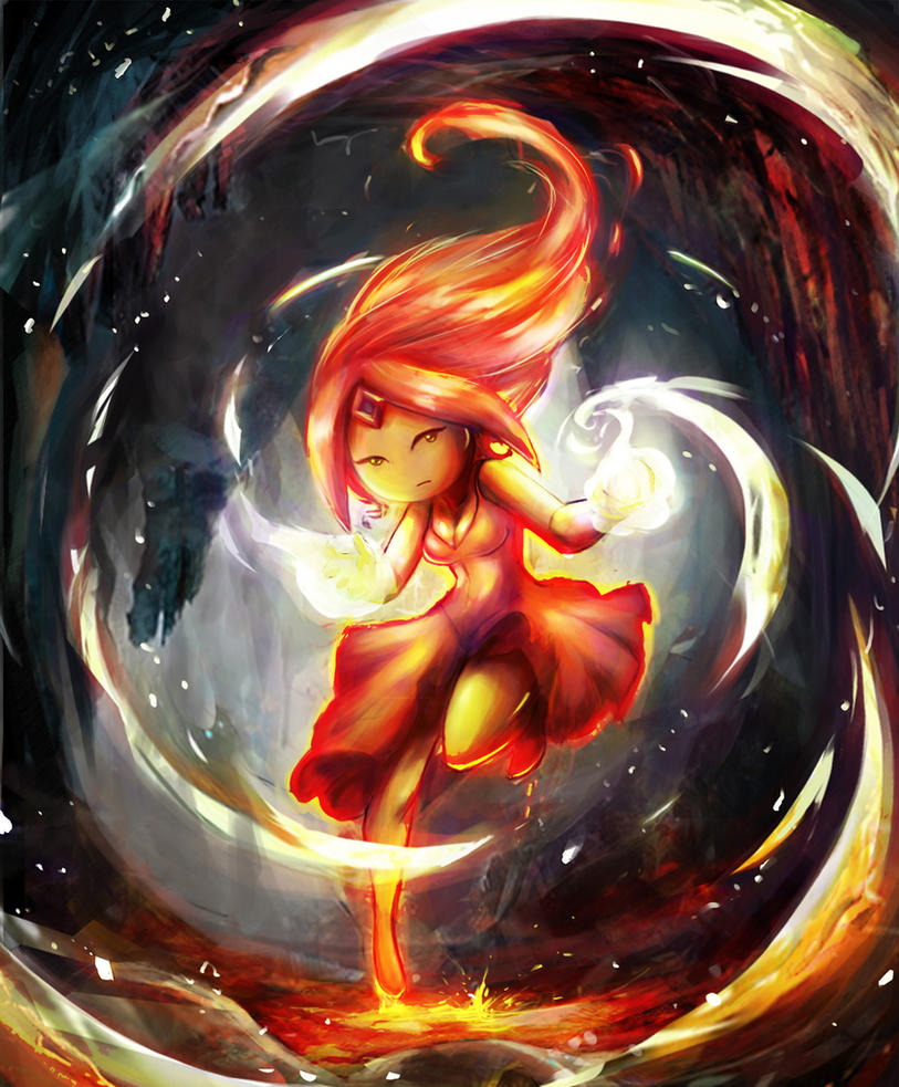 flame princess by juniorstyle