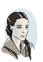 Padme Sketch by tushkanchic