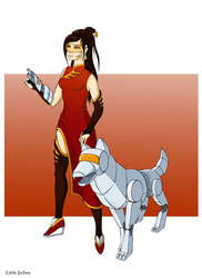 Overwatchbattle Character by tushkanchic