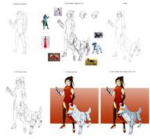 Overwatchbattle Character WIP by tushkanchic