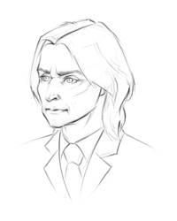 Rumpelstiltskin - Sketch by tushkanchic