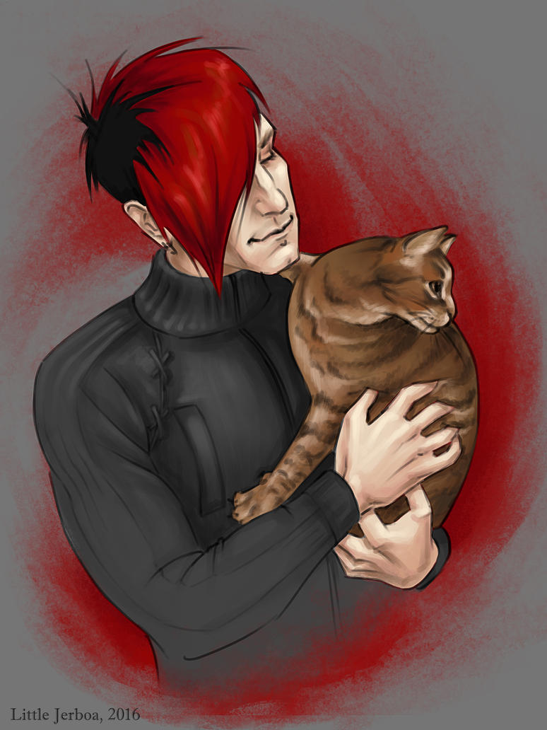 Klayton and Stutter by tushkanchic