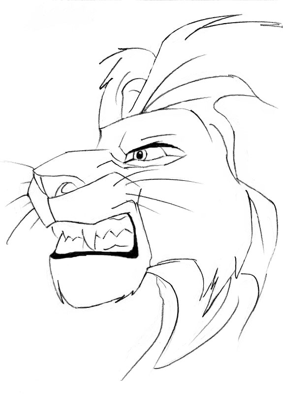 Image Gallery Mufasa Drawings