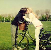 Bicycle Love. by kittysyellowjacket