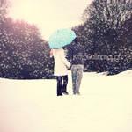 Snowywalk. by kittysyellowjacket
