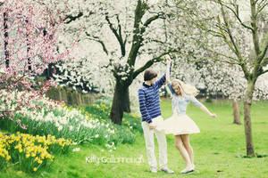 Springtime. by kittysyellowjacket