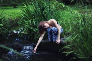 hush river by kittysyellowjacket