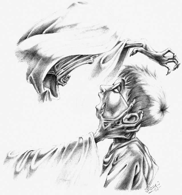 Harry Potter and Dementor by shaneandhisdog on DeviantArt