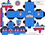 Captain America Cubee