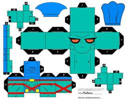 MartianManhunter Cubee by Pankismo