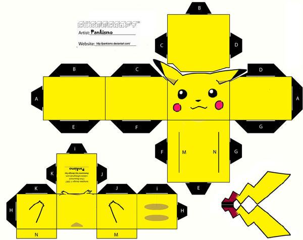 Pikachu Cubee by Pankismo
