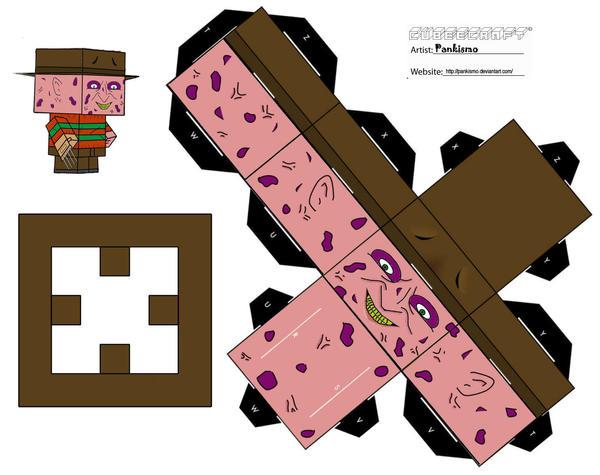 Freddy Krueger Cubee by Pankismo