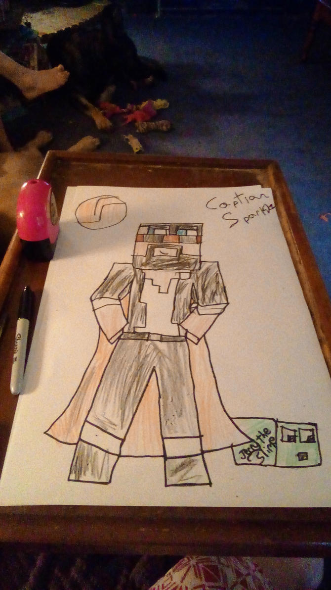 CaptainSparklez and Jerry the Slime by boosharrock on ...