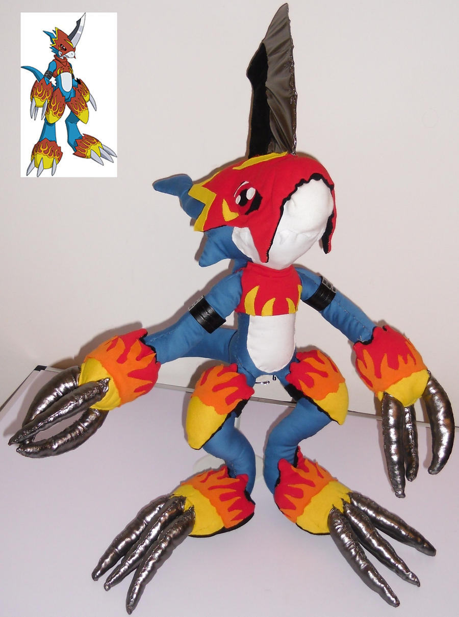 Digimon Flamedramon ht...