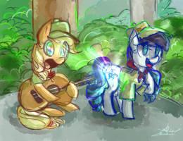 Equestria, the land I love by Tamoqu