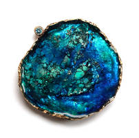 Ocean brooch by afwnd